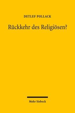 Abbildung von Pollack | Rückkehr des Religiösen? | 1. Auflage | 2009 | beck-shop.de