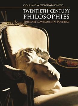 Abbildung von Boundas | Columbia Companion to Twentieth-Century Philosophies | 2009