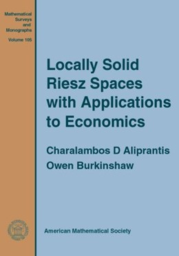 Abbildung von Locally Solid Riesz Spaces with Applications to Economics | 2nd edition | 2004