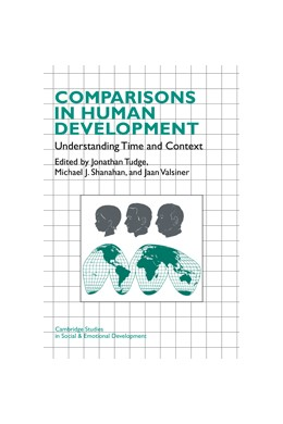 Abbildung von Tudge / Shanahan / Valsiner | Comparisons in Human Development | 1996 | Understanding Time and Context