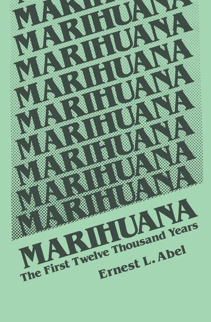 Marihuana | Abel, 1980 | Buch (Cover)