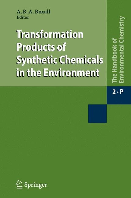 Transformation Products of Synthetic Chemicals in the Environment | Boxall, 2009 | Buch (Cover)