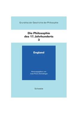Abbildung von Schobinger | Grundriss der Geschichte der Philosophie / Die Philosophie des 17. Jahrhunderts | 1988 | England