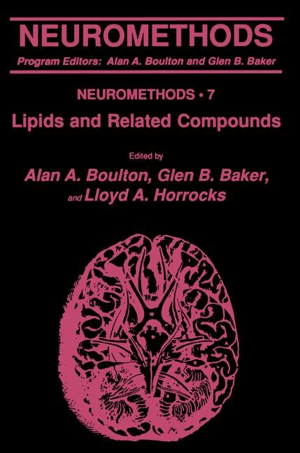 Lipids and Related Compounds | Boulton / Baker / Horrocks, 1989 | Buch (Cover)