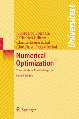 Abbildung von Bonnans / Gilbert / Lemarechal | Numerical Optimization | 2nd ed. | 2006 | Theoretical and Practical Aspe...