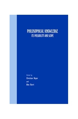 Abbildung von Philosophical Knowledge | 2007 | Its Possibility and Scope | 74
