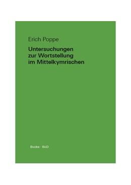 Abbildung von Poppe | Untersuchungen zur Wortstellung im Mittelkymrischen | 2014 | Temporelbestimmungen und funkt...
