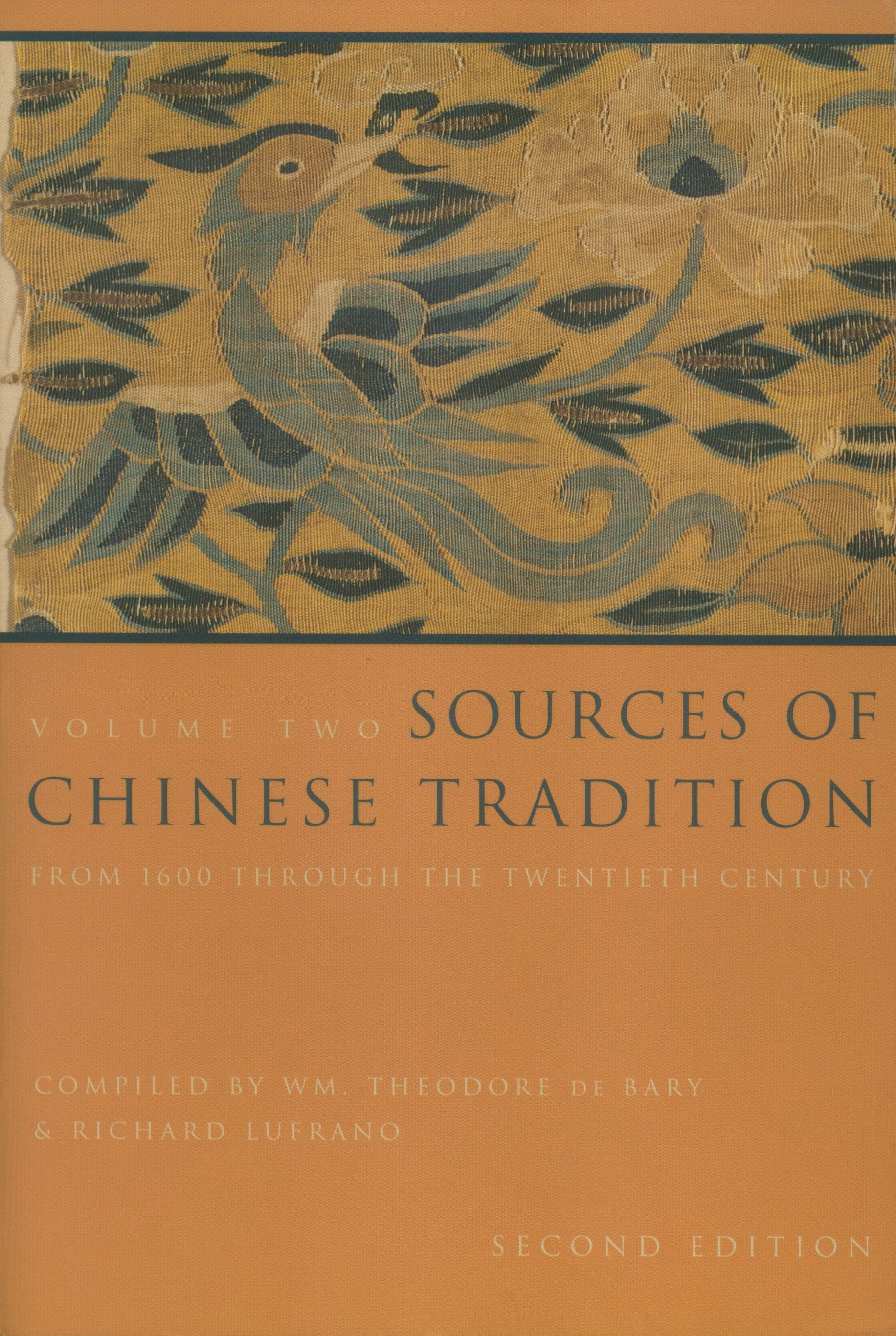 Abbildung von Bary / Lufrano | Sources of Chinese Tradition | second edition | 2001
