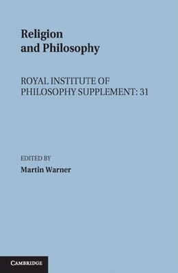 Abbildung von Warner   Religion and Philosophy   1992   31