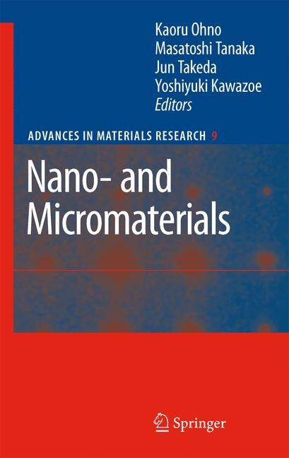 Nano- and Micromaterials | Ohno / Tanaka / Takeda / Kawazoe, 2008 | Buch (Cover)