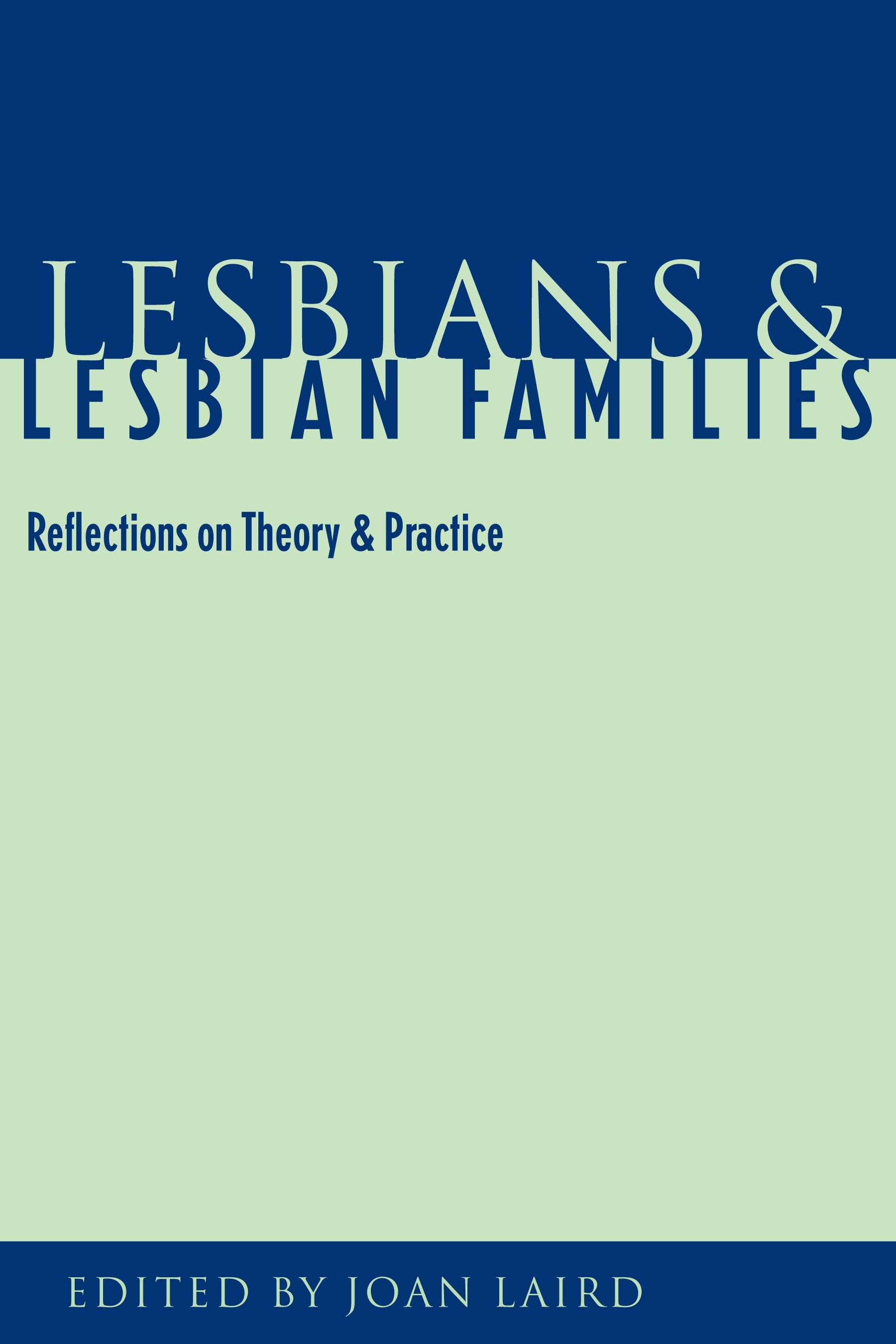 Abbildung von Laird   Lesbians and Lesbian Families   1999