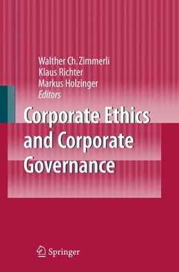 Abbildung von Zimmerli / Richter / Holzinger | Corporate Ethics and Corporate Governance | 2007