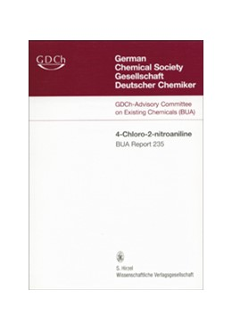 Abbildung von GDCh-Advisory Committee on Existing Chemicals of Environmental Relevance (BUA) | 235 BUA-Report: 4-Chloro-2-nitroaniline CAS-No. 89-63-4 | 2004