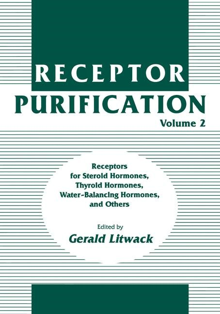 Receptor Purification | Litwack, 1990 | Buch (Cover)
