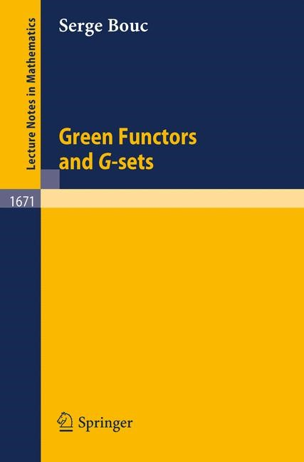 Green Functors and G-sets | Bouc, 1997 | Buch (Cover)