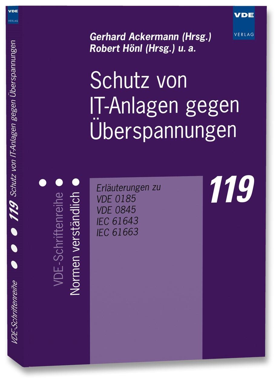 Abbildung von Ackermann / Hönl   Schutz von IT-Anlagen gegen Überspannungen   Neuerscheinung   2006