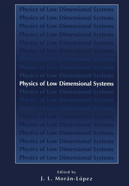 Physics of Low Dimensional Systems | Morán-López, 2001 | Buch (Cover)