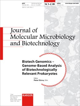 Abbildung von Dürre | Biotech Genomics - Genome-Based Analysis of Biotechnologically Relevant Prokaryotes | 2008 | Special Topic Issue: Journal o...