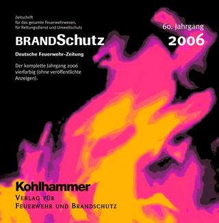 BRANDSchutz 2006 auf CD-ROM | 60. Jahrgang, 2007 (Cover)