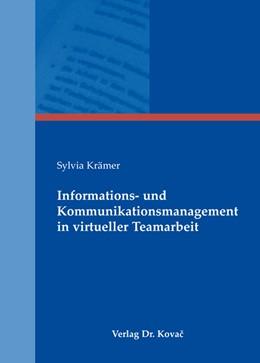 Abbildung von Krämer | Informations- und Kommunikationsmanagement in virtueller Teamarbeit | 2009 | 49