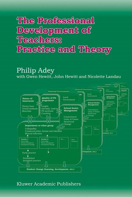The Professional Development of Teachers: Practice and Theory | Adey, 2004 | Buch (Cover)