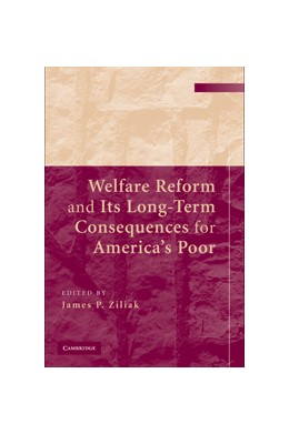 Abbildung von Ziliak | Welfare Reform and Its Long Term Consequences for America's Poor | 2009