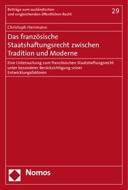 Abbildung von Herrmann | Das französische Staatshaftungsrecht zwischen Tradition und Moderne | 2010 | Eine Untersuchung zum französi... | 29