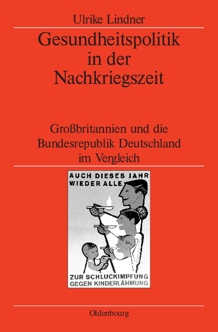 Gesundheitspolitik in der Nachkriegszeit | Lindner, 2004 | Buch (Cover)