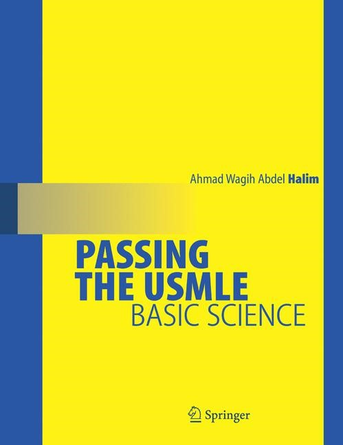 Passing the USMLE   Abdel-Halim, 2008   Buch (Cover)