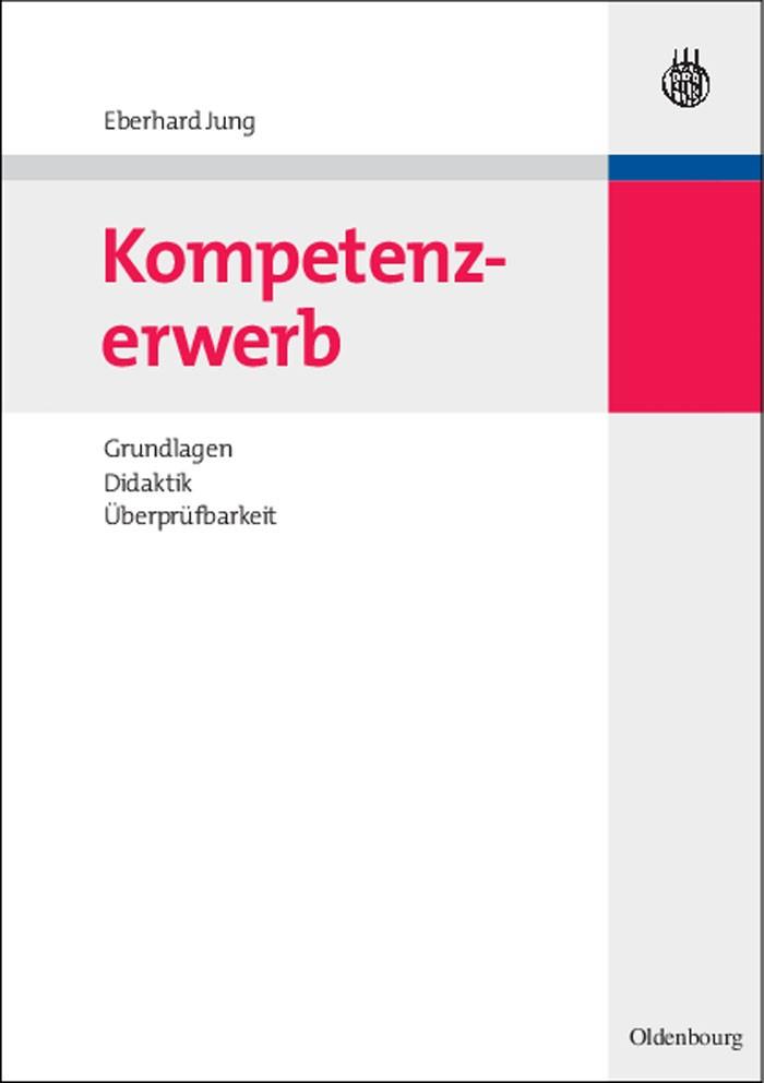 Kompetenzerwerb | Jung, 2010 | Buch (Cover)