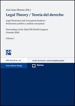 Abbildung von Moreso | Legal Theory / Teoría del derecho | 2007 | Legal Positivism and Conceptua... | 106