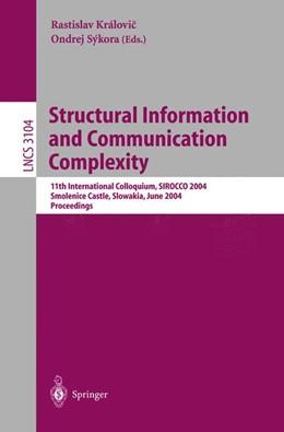 Abbildung von Královic / Sykora | Structural Information and Communication Complexity | 2004 | 11th International Colloquium ... | 3104