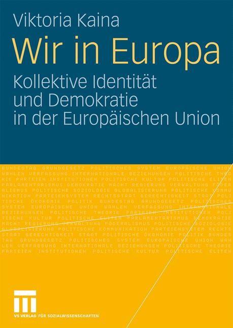 Wir in Europa | Kaina, 2009 | Buch (Cover)