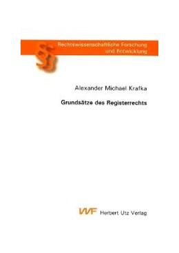 Abbildung von Krafka   Grundsätze des Registerrechts   2004   719