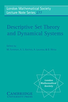 Abbildung von Foreman / Kechris / Louveau / Weiss | Descriptive Set Theory and Dynamical Systems | 2000 | 277