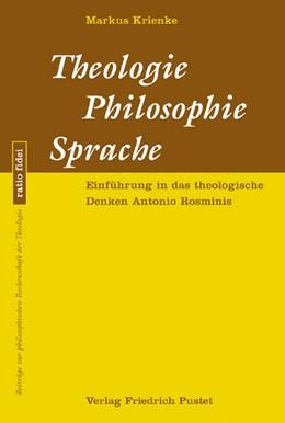 Abbildung von Krienke   Theologie - Philosophie - Sprache   2006   Einführung in das theologische...   29