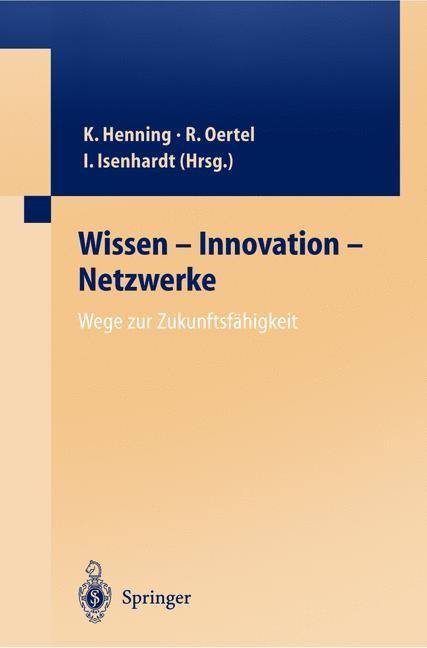 Wissen — Innovation — Netzwerke Wege zur Zukunftsfähigkeit | Oertel, 2003 | Buch (Cover)