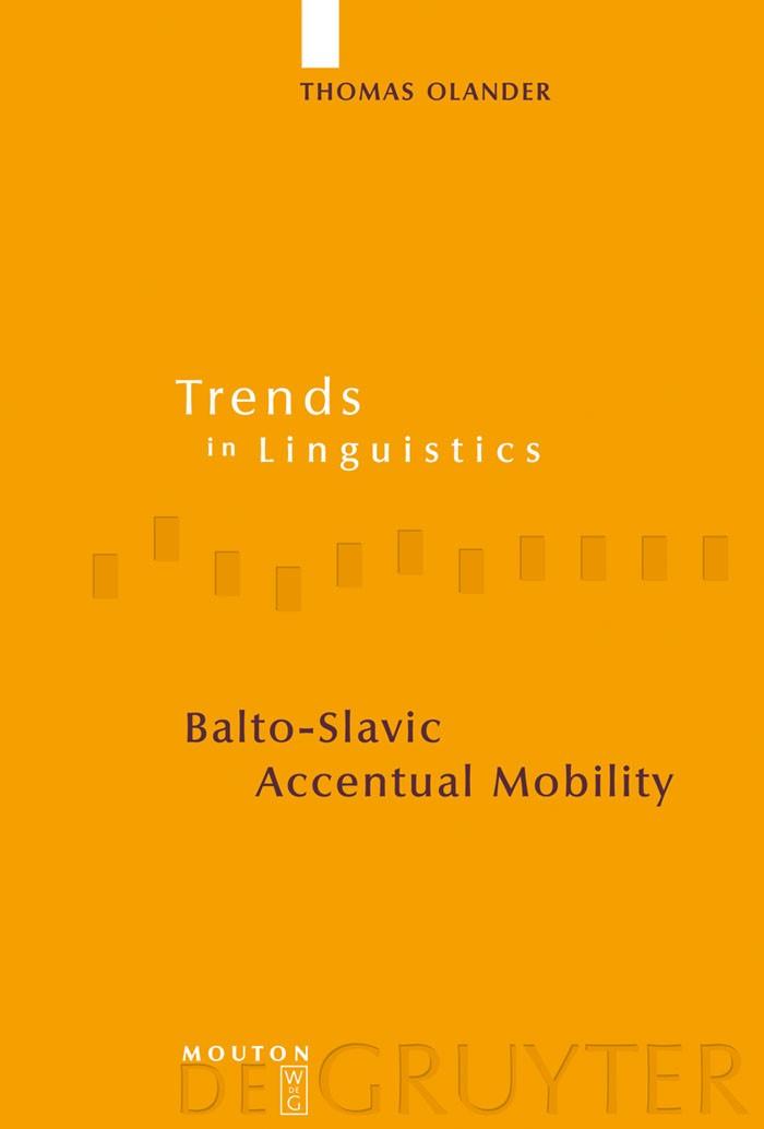 Balto-Slavic Accentual Mobility | Olander, 2009 | Buch (Cover)