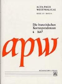Acta Pacis Westphalicae, Serie II, Abt. B, 2004   Buch (Cover)