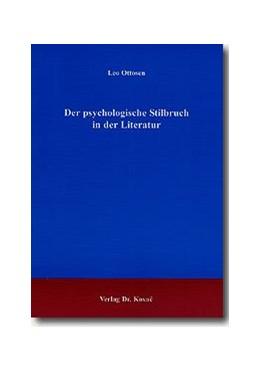 Abbildung von Ottosen | Der psychologische Stilbruch in der Literatur | 2002 | 71