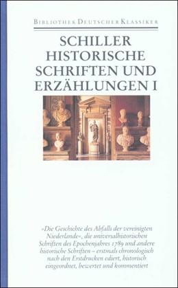 Abbildung von Dann / Schiller   Werke und Briefe in zwölf Bänden   2000   Band 6: Historische Schriften ...