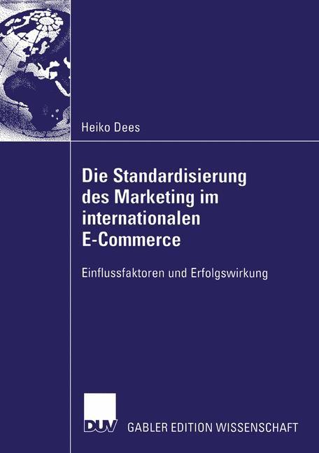 Abbildung von Dees | Die Standardisierung des Marketing im internationalen E-Commerce | 2005