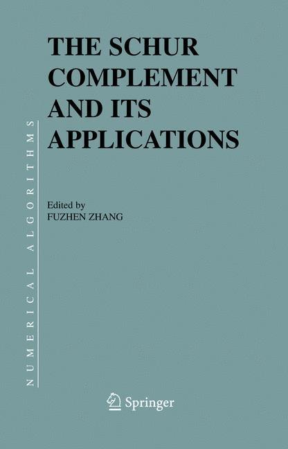 Abbildung von Zhang | The Schur Complement and Its Applications | 2005