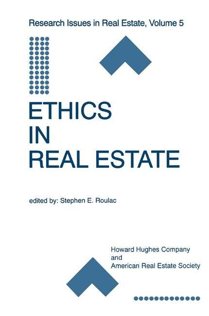 Abbildung von Roulac | Ethics in Real Estate | 1999