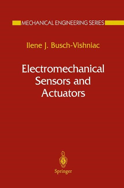 Abbildung von Busch-Vishniac | Electromechanical Sensors and Actuators | 1998