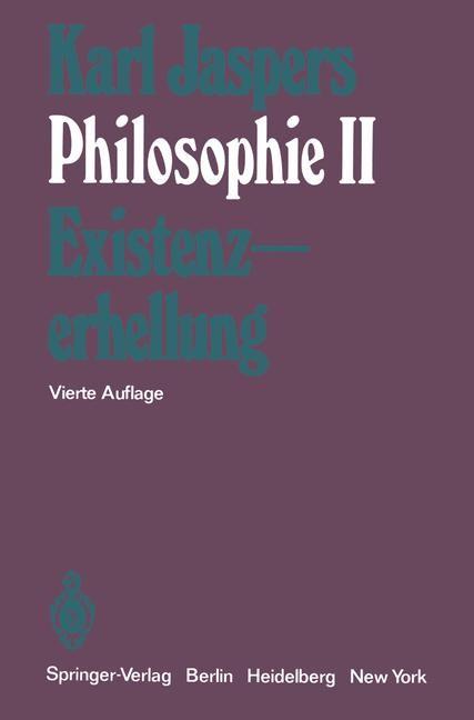 Abbildung von Jaspers | Philosophie | 4., unveränd. Aufl. | 1973