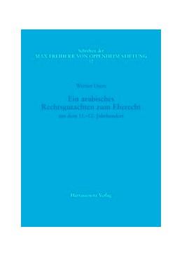Abbildung von Diem | Ein arabisches Rechtsgutachten zum Eherecht aus dem 11.-12. Jahrhundert | 2007 | Aus der Heidelberger Papyrussa... | 17