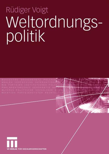 Abbildung von Voigt | Weltordnungspolitik | 2005 | 2005