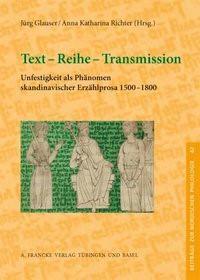 Abbildung von Richter | Text - Reihe - Transmission | 2011