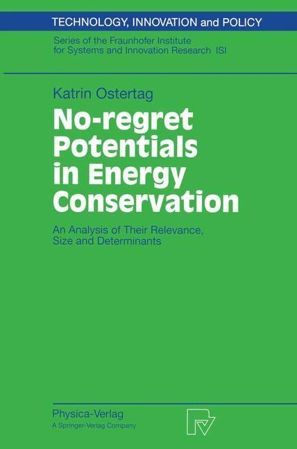 Abbildung von Ostertag | No-regret Potentials in Energy Conservation | 2002
